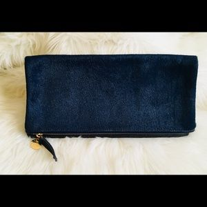 Clare Vivier  fold over clutch.
